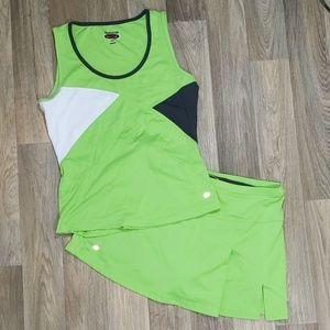 Tennis set outfit tank and squirt Boll Sport mediu